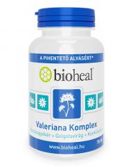 Valeriana Komplex (Macskagyökér + Golgotavirág + Komlótoboz) (70 db)
