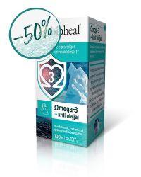 Omega-3 Krill olajjal (100 db)