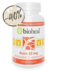 Rutin 20 mg hozzáadott C-vitaminnal (70 db)